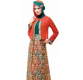 Baju Batik Gamis 2017