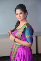 Shilpa Chakravarthy in Purple tight Ethnic Dress ~  Exclusive Celebrities Galleries 070.JPG