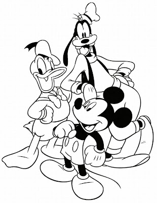 Coloring Pages Online: Disney Characters Coloring Pages