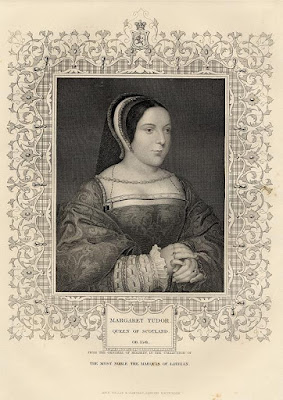 Margaret Tudor, image courtesy of ancestryimages.com