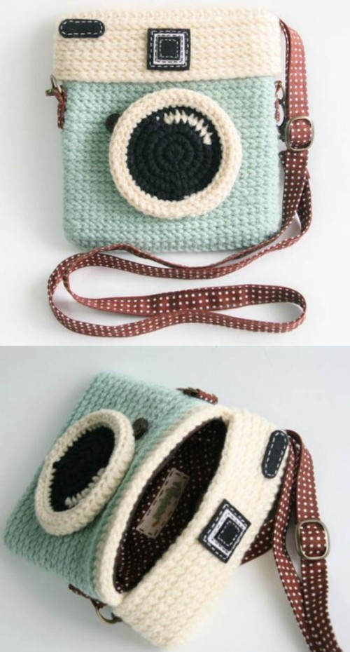 Crochet Instagram Purse - Tutorial
