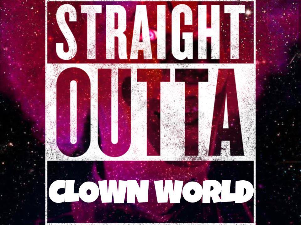 The B Movie News Vault Straight Outta Clown World Here S Brbrck S Crazy Cool Rap Theme Song For Space Clown The perfect honkler clown world animated gif for your conversation. the b movie news vault straight outta
