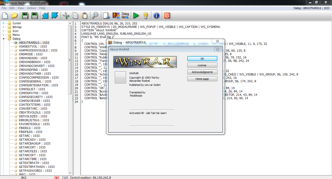Hack WinRar to Make it Full Version - Make your own Crack