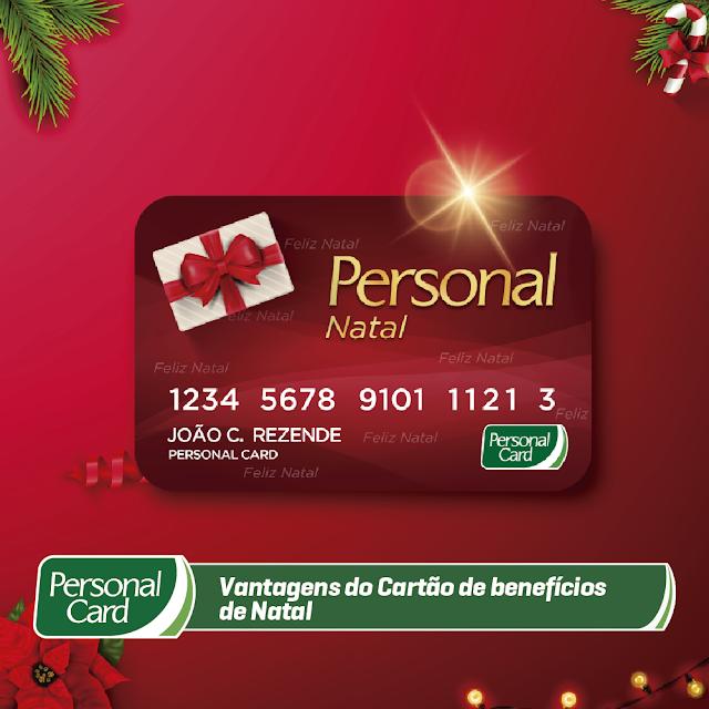 Vantagens do Cartão de benefícios de Natal