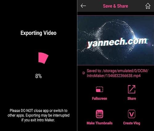 Cara Membuat Video Intro Youtube di Android Terbaru