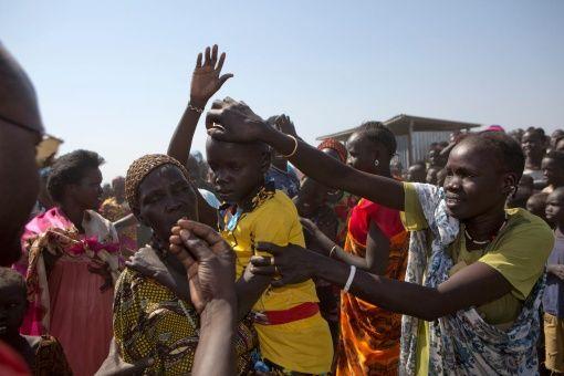 Niños de Sudán del Sur viven en situación precaria