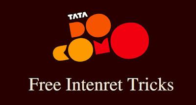 Tata Docomo FREE 1GB 3G Internet Data offer tricks