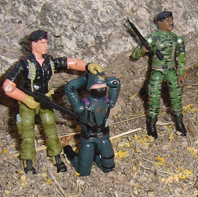 2005 Comic Pack Flint, Night Watch Cobra Officer, 1997 STalker