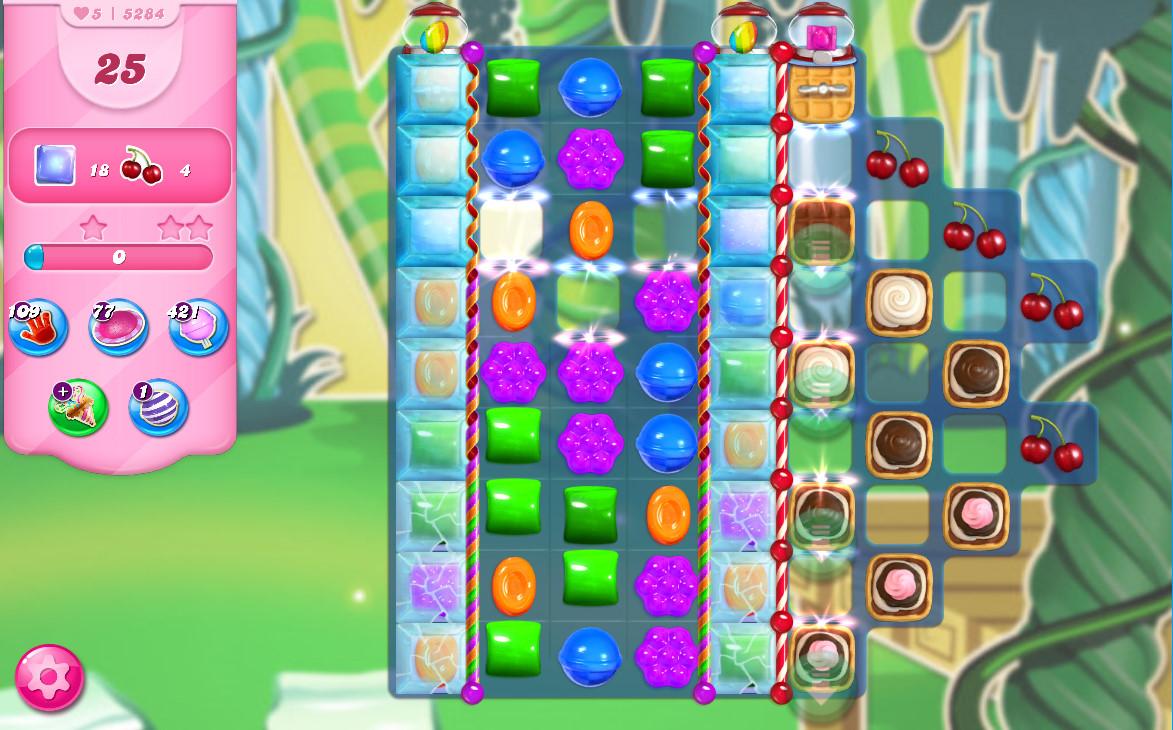 Candy Crush Saga level 5284