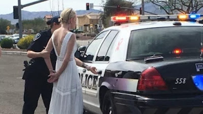 Confusion, Drama As Police Arrest Bride On Her Wedding Day