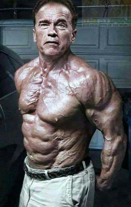 Arnold Schwarzenegger looks better now at age 70 than he was at 35.  StrengthFighter.com