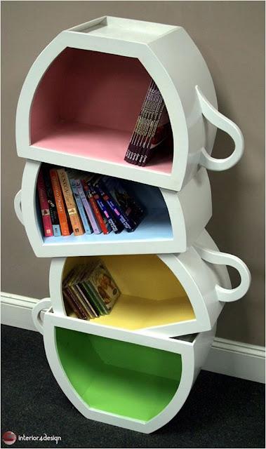 70 Best Bookshelf Designs 10