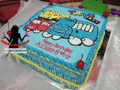 Kue Tart ULTAH Gambar Tayo