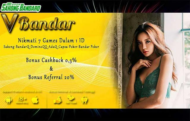 Judi BandarQ Online Terpercaya VBandar.info