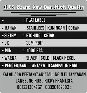 PLAT LABEL HIJAB | PLAT LABEL HIJAB UNIK | PLAT LABEL CUSTOM | JUAL PLAT LABEL HIJAB