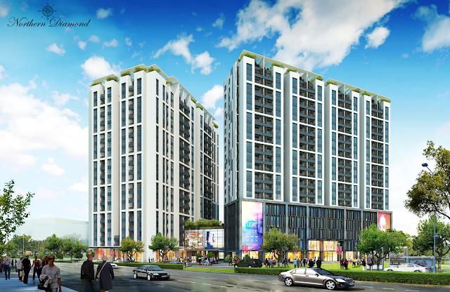 toàn cảnh dự án Northern Long Biên