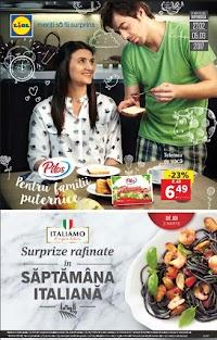 """Catalog Lidl: """"Surprize rafinate în săptămâna italiană"""""""