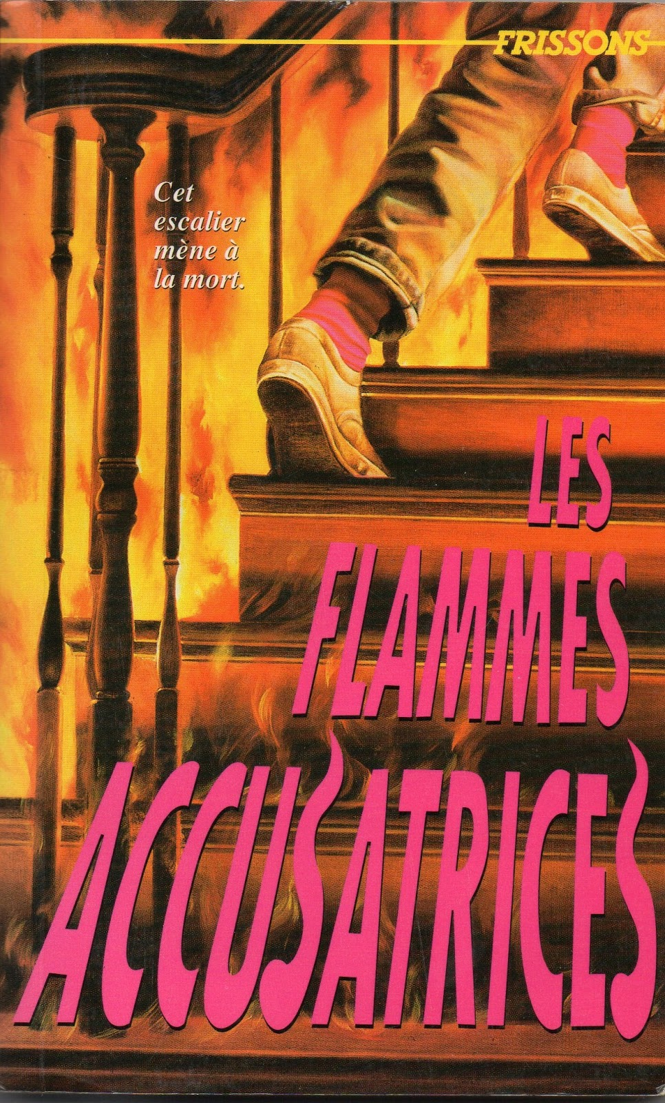 Frissons #35 Les flammes accusatrices (French - Mars 1994)