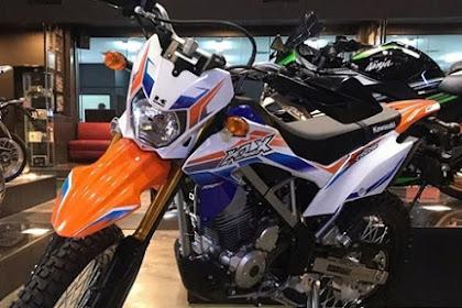 New Kawasaki KLX150BF Extreme 2017