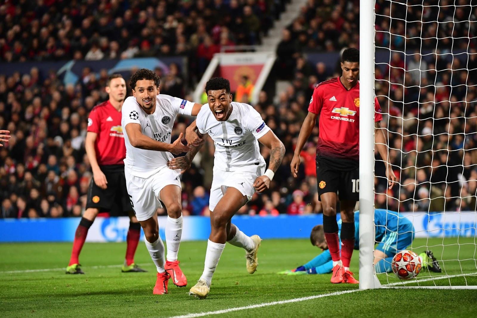 عصبة الأبطال/باريس سان جرمان أول فريق فرنسي يُطيح بمانشستر يونايتد و روما يهزم بورتو