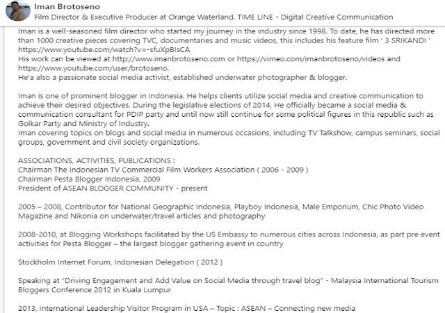 Iman Brotoseno resmi dilantik sebagai Direktur Utama Lembaga Penyiaran Publik TVRI untuk periode 2020-2023