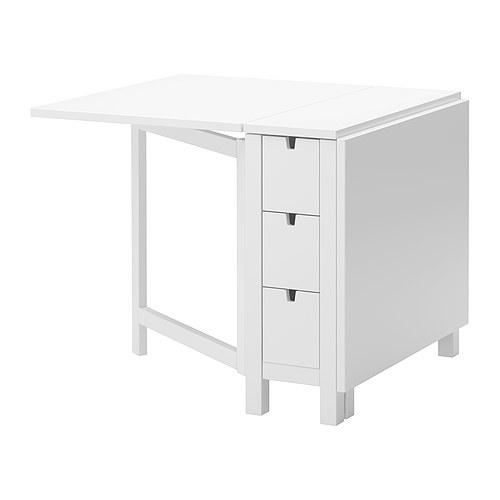 Ikea White Folding Dining Table Best