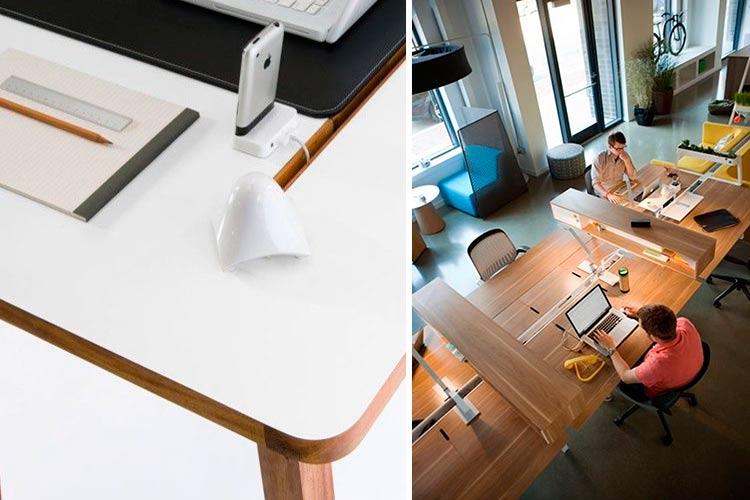 Marzua pasacables para escritorio ocultar el cableado for Pasacables mesa oficina