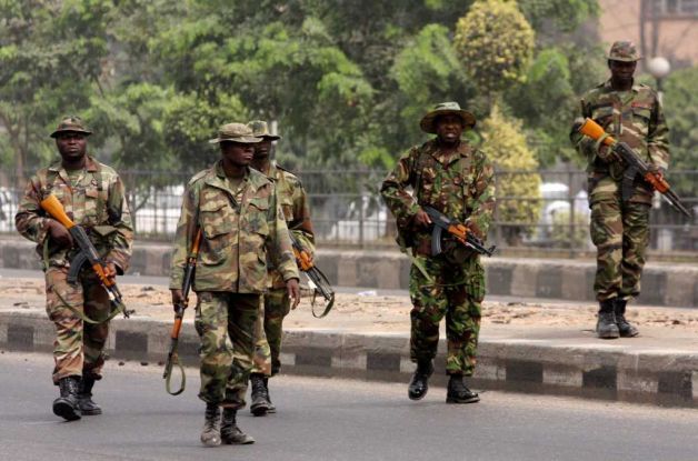 Soldiers Invade Police Station In Search Of Killer Cop