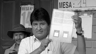 """Con el 27,4% de las actas computadas, el """"No"""" a la posibilidad del presidente de Bolivia, Evo Morales, de presentarse en las elecciones de 2019, sigue ganando por amplía mayoría con63,5% de los votos frente a 36,5% para el """"Sí""""."""