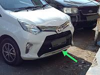 Harga Dan Fisik : Lower Grill Chrome Toyota Calya