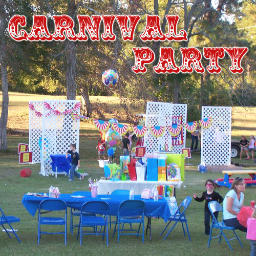 Carnival Party Ideas: Caden's 2nd Birthday Party Carnival