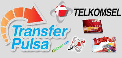Cara Transfer Pulsa Telkomsel SimPATI, AS dan Loop