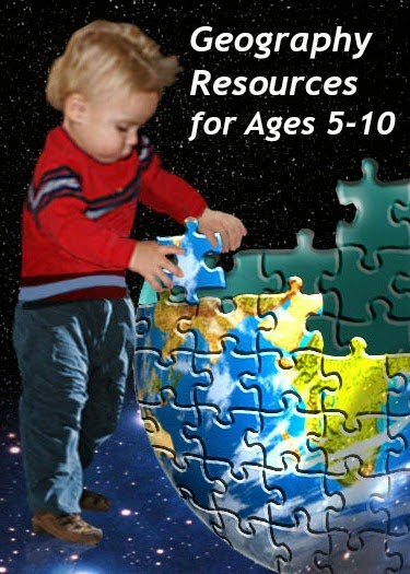 How to teach geography to children age 5-10