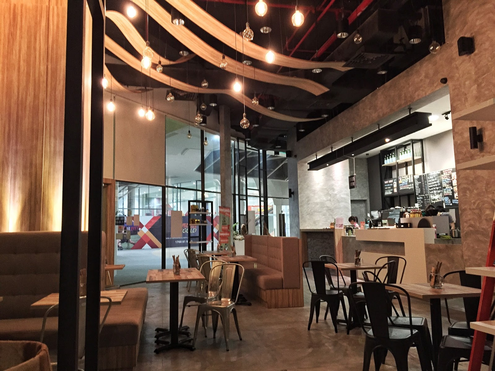 Penang Cafes - Brown Pocket Cafe Interior