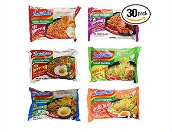 Indomie Variety Pack Mi Goreng BBQ Chicken Noodles