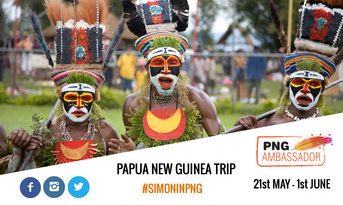 Papua New Guinea - Blog Cover - #SimonInPNG
