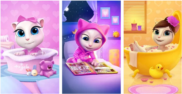 My Talking Angela MOD APK, My Talking Angela  APK