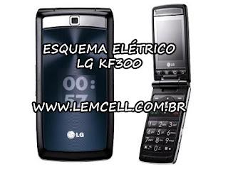 Esquema Elétrico Celular Smartphone LG KF300 Manual de Serviço  Service Manual schematic Diagram Cell Phone Smartphone LG KF300