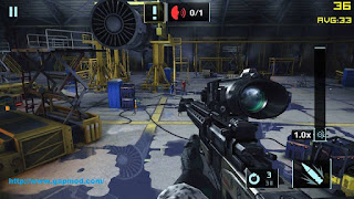 Game Sniper Fury Mod Unlimited Ammo