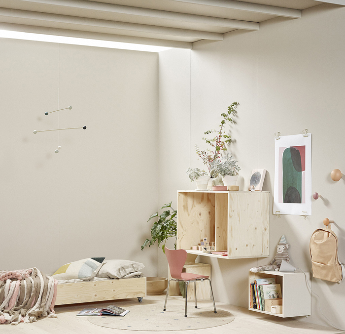 Kids room at Habitare interior fair 2016