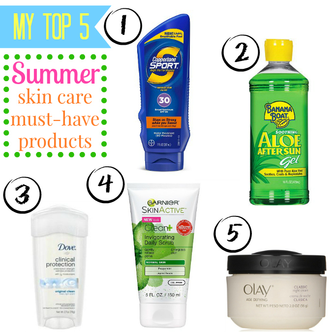 Summer Skin Care: Love, Laurie: My Top 5 Summer Skin Care Must-have Products