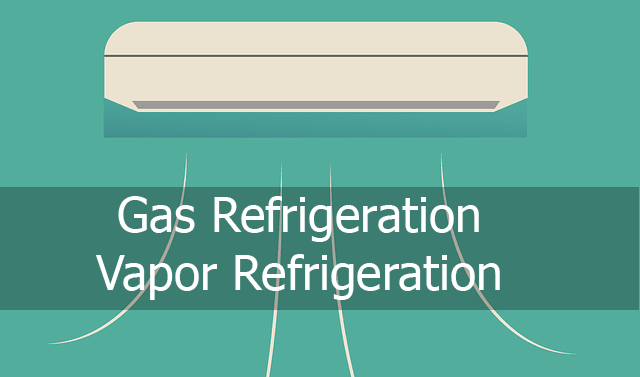 air refrigeration vapour refrigeration