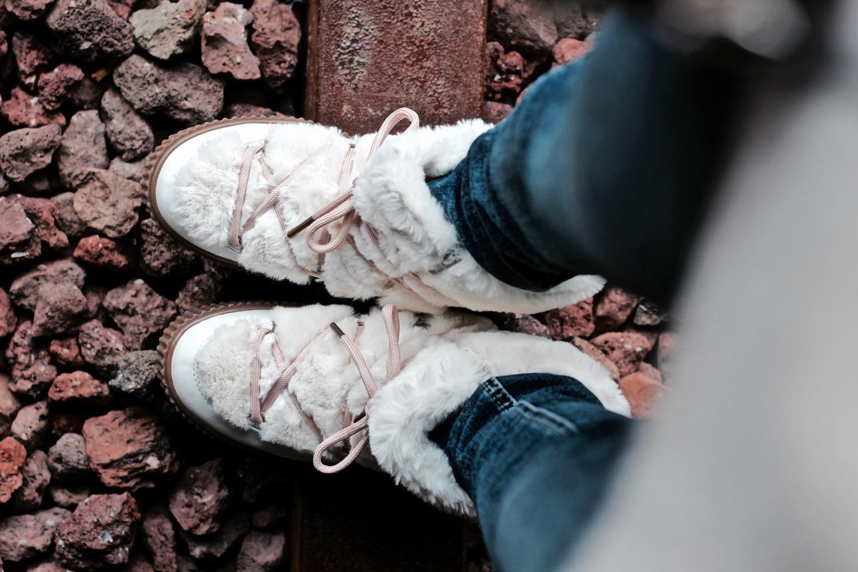 botas con pelo