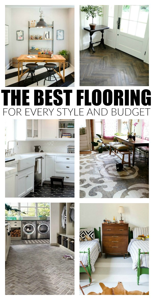The Best Flooring Options For Every Style And Budget Little House - Best flooring for entire house