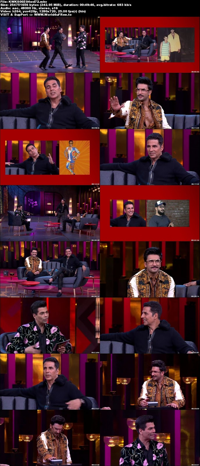 Koffee With Karan S06 28 October 2018 720p WEBRip 250mb x264 world4ufree.vip tv show Koffee With Karan Season 6 Star World tv show HD 720p free download or watch online at world4ufree.vip
