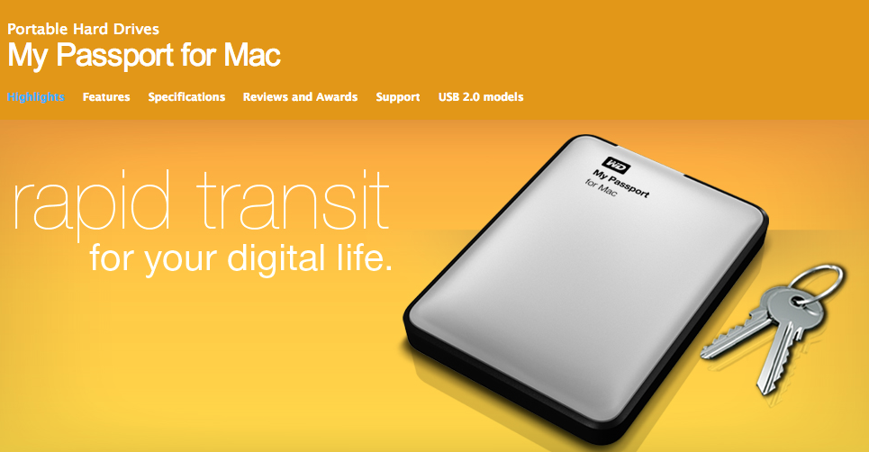 western digital my passport for mac 2tb review