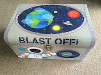 space ship activity box