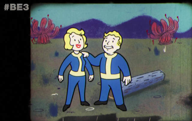 Bethesda E3 2018 Fallout 76 Vault Boy Girl information video