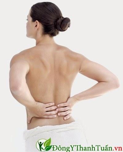 Đau Lưng triệu chứng của bệnh viêm xương chậu