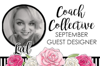 The September edition of Coach Collective is here.  Pick up your copy of this fun tutorial bundle today.  This month's collection features a bonus tutorial provided by our guest designer.